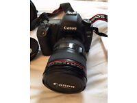 Canon EOS 5D Mark II bundle (2 lenses, bag, accessories)