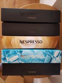 100 unopened Nespresso Vertuo Capsules