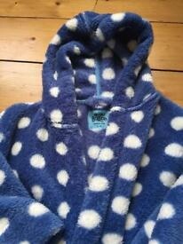 Bowden girls dressing gown 5-6yrs