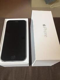 iPhone 6 16gb black /silver grey