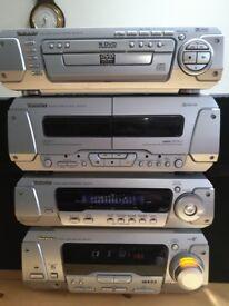 Technics separates silver no speakers