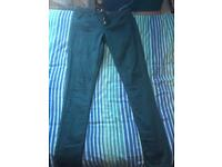 Topshop blue jeans