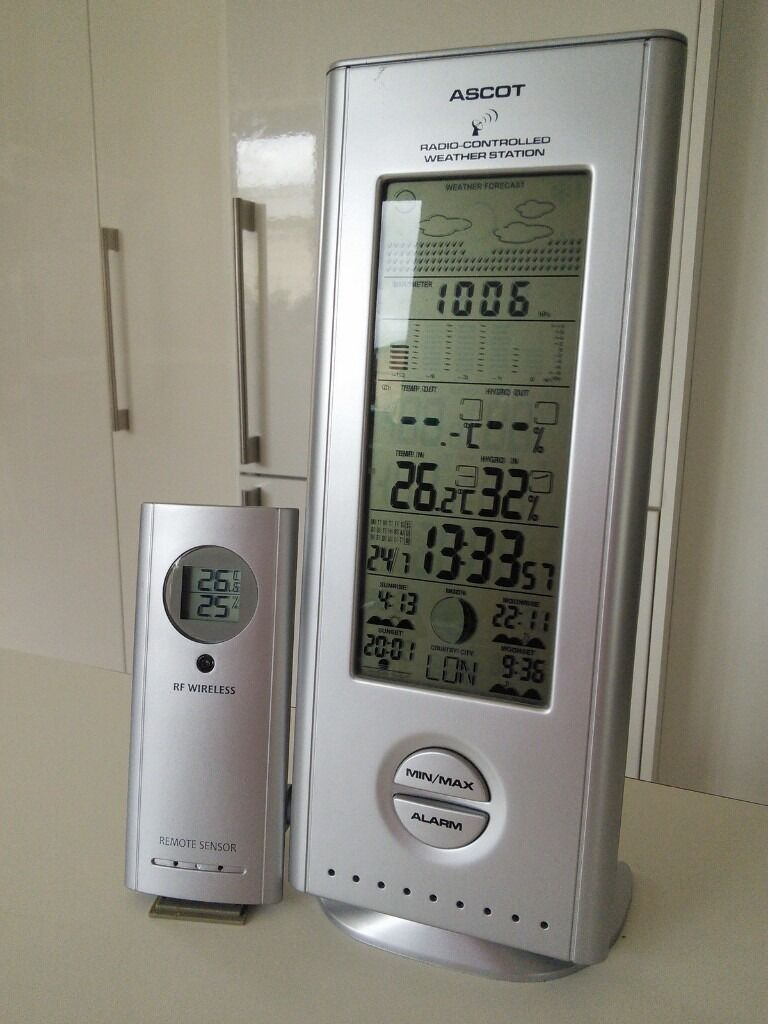 Ascot Wireless Digital Weather Station Thermometer