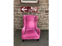 Capsule collection wingback armchair * free furniture delivery *
