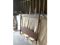 BEAUTIFUL STAG FOUR POSTER DOUBLE SIZE HEADBOARD & MATCHING FOOTBOARD