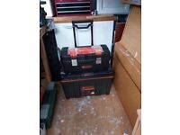 Rolling Large Toolbox - £35