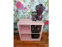 Solid Candy Pink Storage Unit