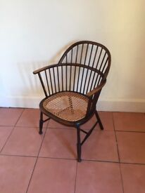 Mahogany Timber / Cane Chair