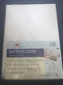 Two single bed mattress covers BNIB
