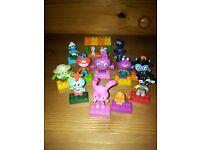 Huge collection of Moshi Monsters Mega Blocks Mega Bloks playsets like lego - complete