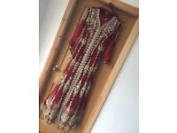 Glamorous Red Indian Wedding/Party Dress *WORN ONCE*