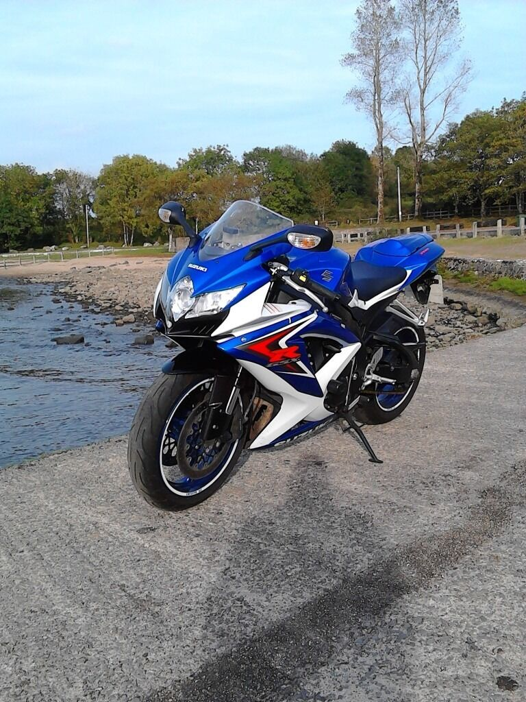suzuki gsxr 750 k8 2009 in omagh county tyrone gumtree. Black Bedroom Furniture Sets. Home Design Ideas