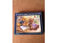 THE CLASSIC COLLECTION 550 PIECE JIGSAW PUZZLE-TEDDIES