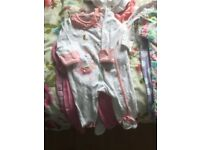 Baby bundle sizes from 0-3 3-6 months