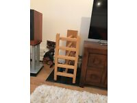 Cyrus Tri arbour rack in oak