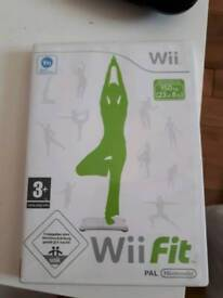 NINTENDO WII GAME WII FIT