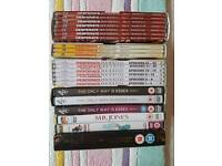 Mixed variety of dvd s