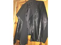 Ladies Biker Style Leather Look Jacket - Plus size - Size 28 - £15