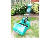 Cylinder petrol mower