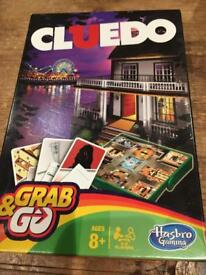 Cluedo - grab and go - smaller board game