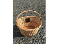Brand new bicycle wicker basket
