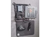 XIM4 + Logitech g502 Proteus gaming mouse, keyboard and mousepad