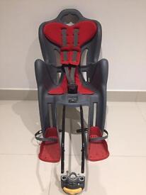 Bellelli Child Bike Seat rear bike seat suitable for children up to 22kg