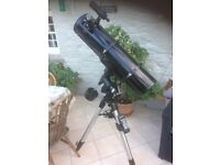 New Celestron Telescope, never used only assembled for pictures.