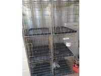 6 x Dog Crates 80cm x 60cm x 54cm