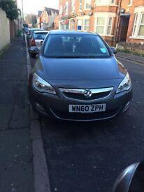 Grey Vauxhall Astra new shape