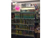retail shop shelving shelves