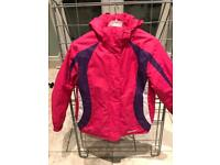 Girls ski/winter coat, mountain warehouse, excellent condition