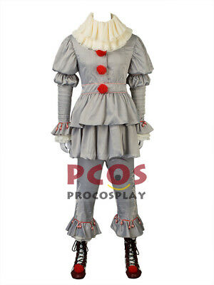 Best 2017 Pennywise the Dancing Clown Cosplay Costume & Boots mp003732 halloween - Best Cosplay Halloween Costume