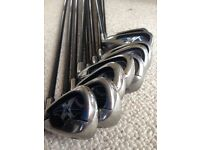 Set of Callaway X-18 graphite irons - male, right hand
