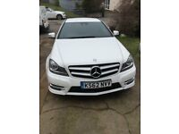 MERCEDES BENZ C CLASS C250 COUPE AMG LINE 2013