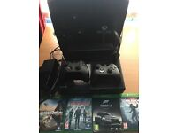 Xbox One 500Gb with Kinect and 4 games