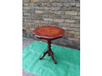 Small Pedestal TABLE (COFFEE Tea Cup Drink Cake Side) #FREE DELIVERY#