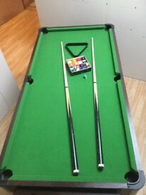 Pool table and air hockey combo