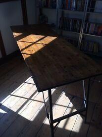 Industrial desk (minimalist, retro style - military table)