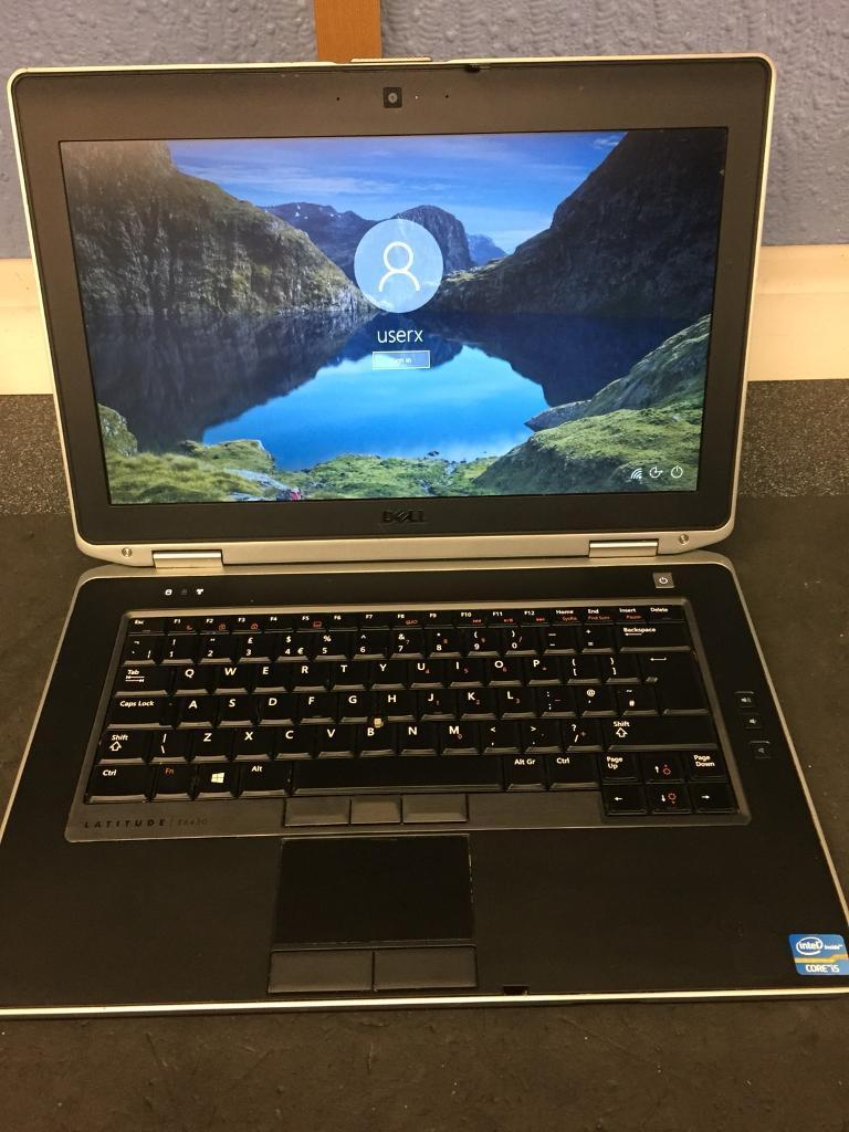 Dell Latitude e6430 i5 2 60GHz 8GB RAM 750GB HARD DRIVE WEBCAM HDMI Windows  10 | in Saughton, Edinburgh | Gumtree