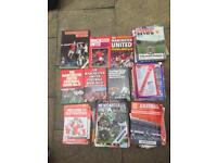 Manchester United Programmes and Year Books