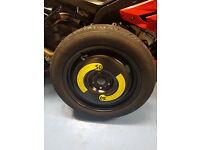 Audi Q3 space saver spare wheel