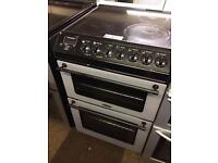 TRICITY BENDIX 60CM FAN ASSISTED DOUBLE OVEN ELECTRIC COOKER0036