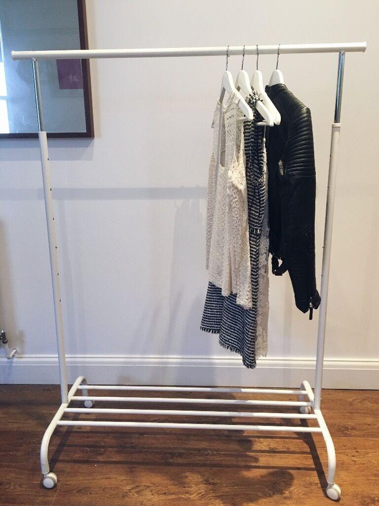 ikea pax clothes rail instructions