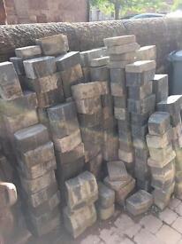 Edging blocks