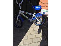 "Boys bike Apollo police bike 12"" ( 3- 6 years old)"