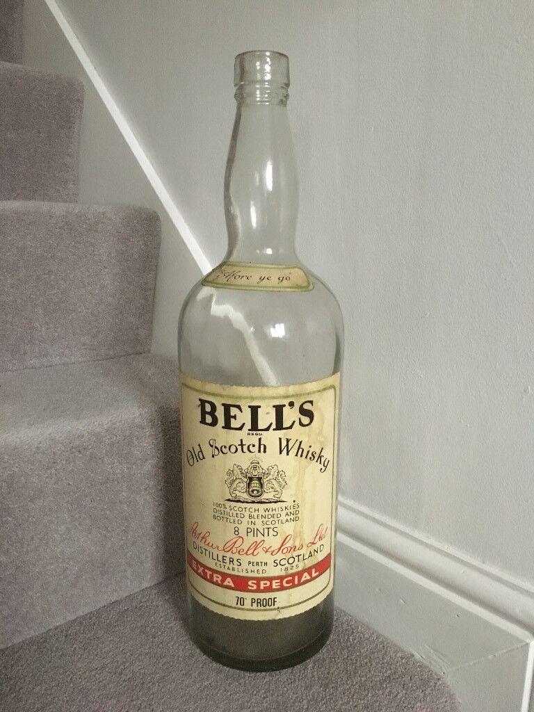 Giant Large 4 5 Litre Bells Scotch Whisky Bottle Money