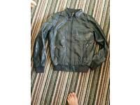 Zara leather jacket new unused size M