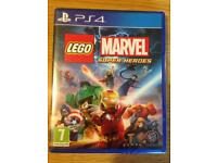 Brand New: LEGO Marvel Super Heroes PS4