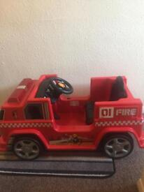 6v battery fire engine